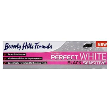 Beverly Hills Formula Perfect White Black Sensitive Toothpaste 100ml