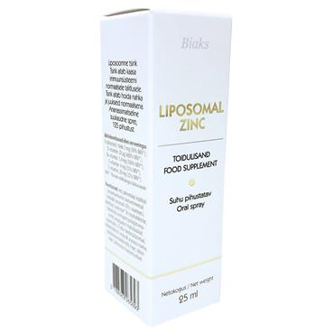 Biaks Liposomal Zinc Oral Spray 27ml