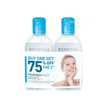 Bioderma Hydrabio H2o Micellar Water 250ml Twin Pack Special Offer