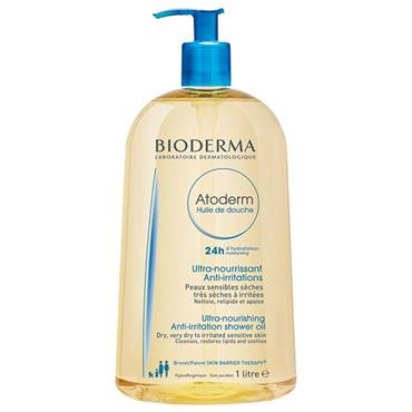 Bioderma Atoderm Ultra-Nourishing Anti-Irritation Shower Oil 1 Litre