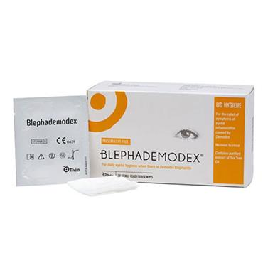Blephademodex 30 Sterile Wipes