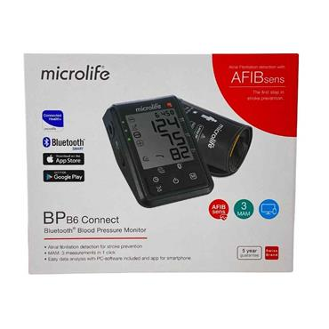 Microlife Bluetooth Blood Pressure Monitor with Atrial Detection BPB6 AFIBsens