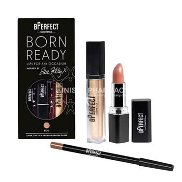 BPerfect Ellie Kelly Born Ready Lip Kit Boo