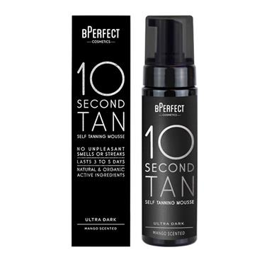 BPerfect 10 Second Self Tanning Mousse Ultra Dark Mango Scented 200ml