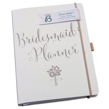 Busy B Bridesmaid Planner 4 Handy Storage Pockets