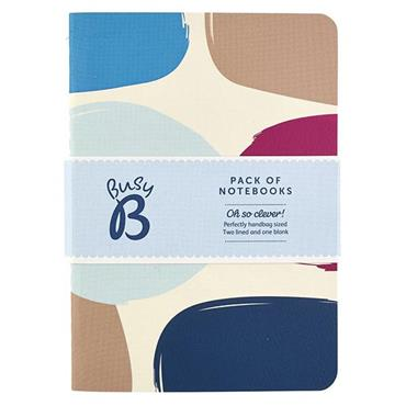 Busy B Notebooks Handbag Sized 3 Pack