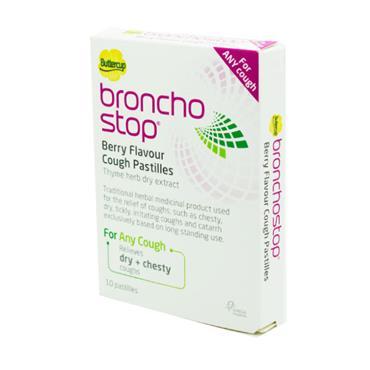 Buttercup Broncho Stop Cough Pastilles 10 pack