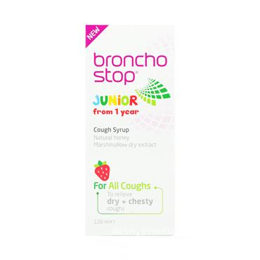 Broncho Stop Junior Cough Syrup 120ml