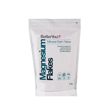 BetterYou Magnesium Mineral Bath Flakes 1kg