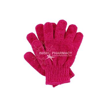 Cocoa Brown Exfoliating Gloves