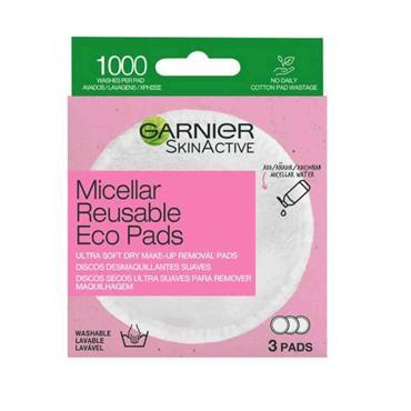 Garnier SkinActive Micellar Reusable Eco Pads 3 Pack