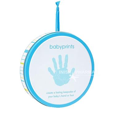 Pearhead Babyprints Tin Blue