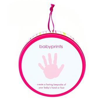Pearhead Babyprints Tin Pink