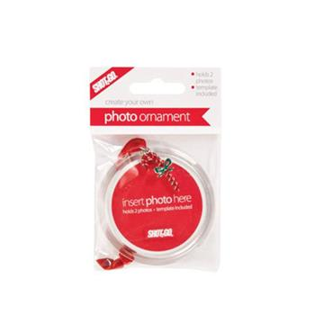 Shot2Go Jangle Christmas Photo Ornament - Candy Cane