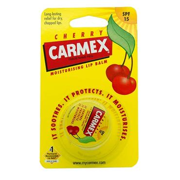 Carmex Lip Balm Cherry SPF15 Pot 7.5g