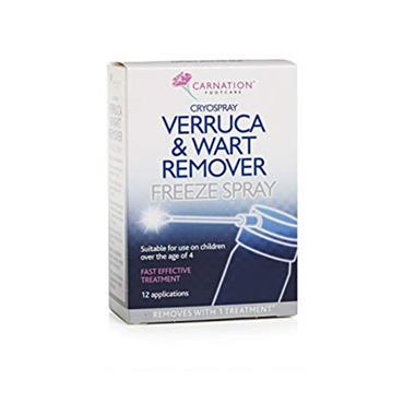 Carnation Cryospray Verruca & Wart Remover Freeze Spray 50ml