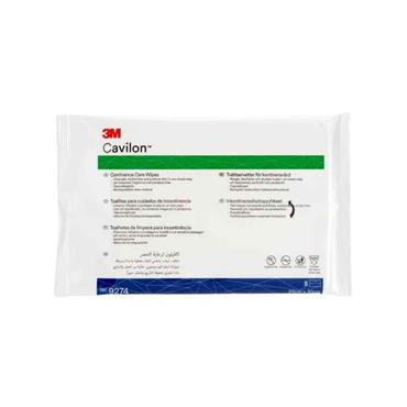 Cavilon Continence Care Wipes 8 Pack