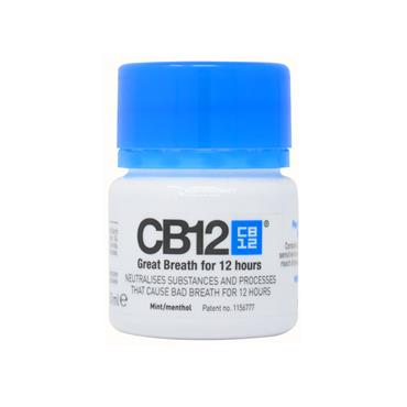 CB12 Mint Menthol Mouthwash Travel Size 50ml