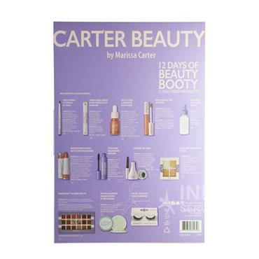 Carter Beauty 12 Days of Beauty Booty Advent Calendar