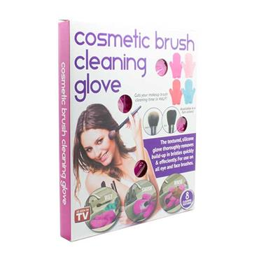 Cosmetic Brush Cleaning Glove