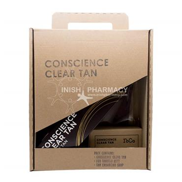 Conscience Clear Tan Dark 3 Piece Gift Set