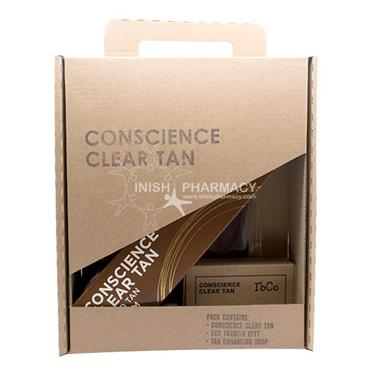 Conscience Clear Tan Medium 3 Piece Gift Set