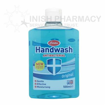 Certex Antibacterial Handwash 500ml - Original Blue