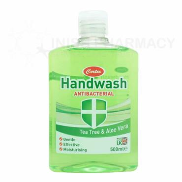 Certex Antibacterial Handwash 500ml - Tea Tree