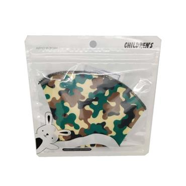 Kids Reusable Face Mask - Camouflage