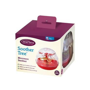 Clevamama Microwave Steriliser Soother Tree