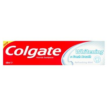 Colgate Whitening & Fresh Breath Toothpaste 100ml