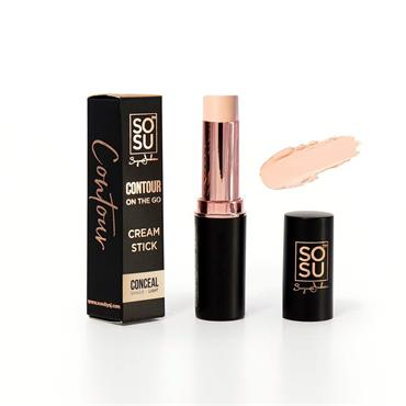 SOSU Contour On The Go Cream Stick Conceal Shade Light