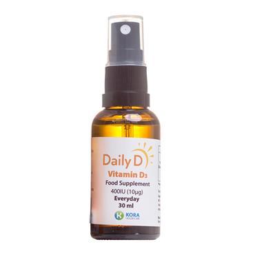 DailyD Vitamin D3 400iu Spray 30ml