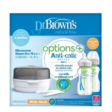 Dr Browns Options + Microwave Steriliser