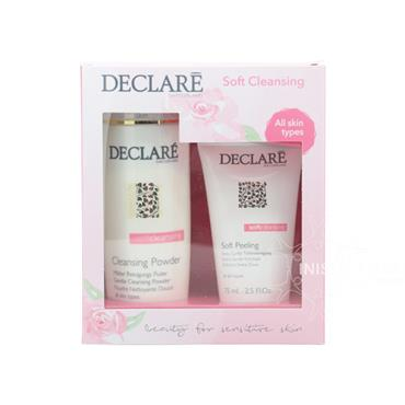 Declare Soft Cleansing Powder & Soft Peeling Gift Set