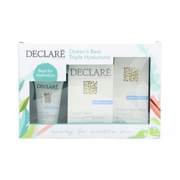 Declare Ocean's Best Triple Hyaluronic 3 Piece Gift Set