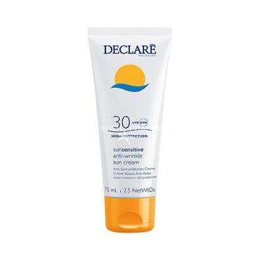 Declare Sun Sensitive Anti-Wrinkle Sun Cream SPF30+ High Protection 75ml