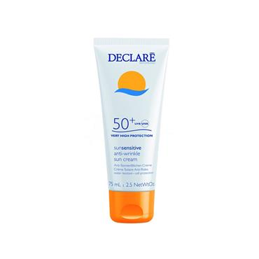 Declare Sun Sensitive Anti-Wrinkle Sun Cream SPF50+ Very High Protection 75ml