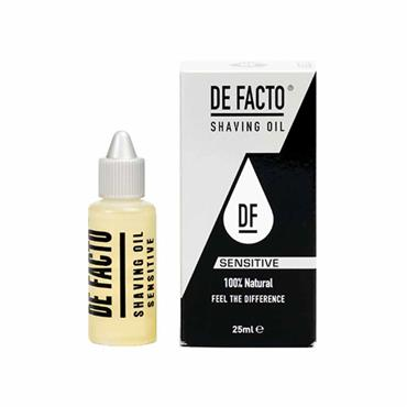 De Facto Shaving Oil Sensitive 25ml