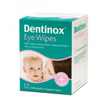 Dentinox Eye Wipes 12 pack