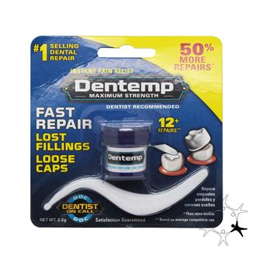 Dentemp Maximum Strength Fast Repair Kit 2.2g