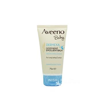 Aveeno Dermexa Baby Good Night Emollient Balm 75ml
