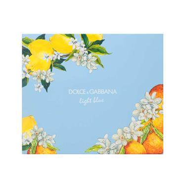 Dolce & Gabanna Light Blue Ladies 2 Piece Giftset