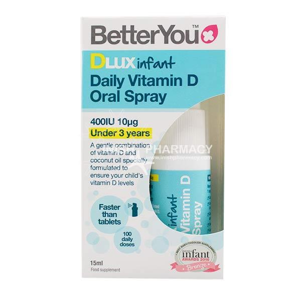 köpa billigt bästsäljare utlopp BetterYou Infant DLUX Daily Vitamin D Oral Spray 400IU 15ml ...