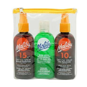 Malibu Sun Oil 3 Piece Travel Set