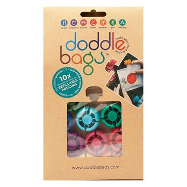 Doddlebags Refillable Pouches 10 Pack