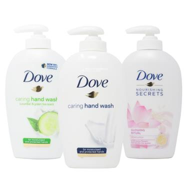 Dove Caring Hand Wash Triple Pack