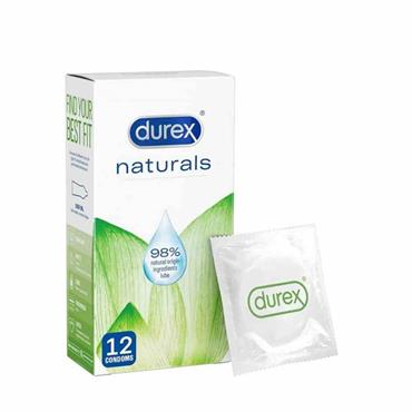 Durex Naturals Condoms 12 Pack
