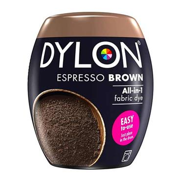 Dylon All In 1 Fabric Dye Pod Espresso Brown 350g