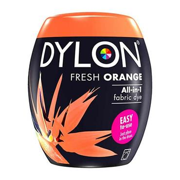 Dylon All In 1 Fabric Dye Pod Fresh Orange 350g